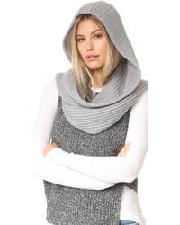 Écharpe en tricot grise Kate Spade