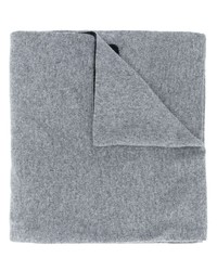 Écharpe en tricot grise Moschino