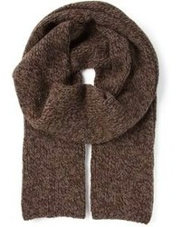 Écharpe en tricot marron Dolce & Gabbana