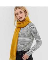 Écharpe en tricot moutarde Accessorize