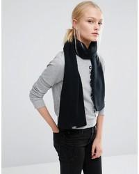 Écharpe en tricot noire Cheap Monday