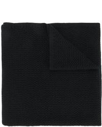 Écharpe en tricot noire Givenchy