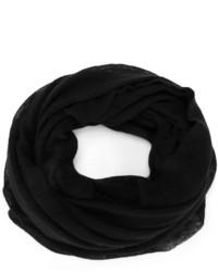 Écharpe en tricot noire Isabel Marant