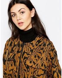 Écharpe en tricot noire Monki