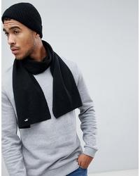 Écharpe en tricot noire Puma