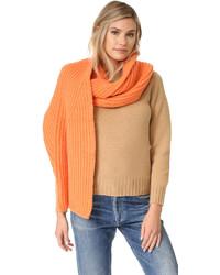 Écharpe en tricot orange Acne Studios