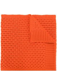 Écharpe en tricot orange Calvin Klein