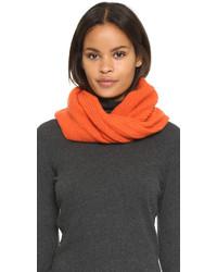 Écharpe en tricot orange Rag & Bone