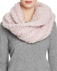 Écharpe en tricot rose Rebecca Minkoff