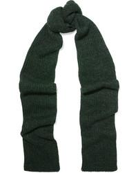Écharpe en tricot vert foncé Etoile Isabel Marant