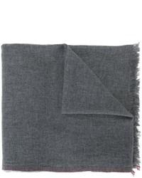Écharpe gris foncé Brunello Cucinelli