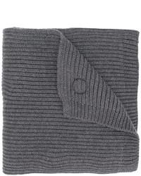 Écharpe gris foncé DSQUARED2
