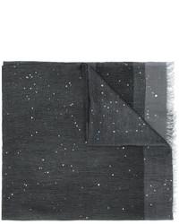 Écharpe gris foncé Faliero Sarti