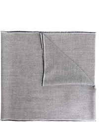 Écharpe grise Burberry