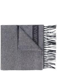 Écharpe grise Dolce & Gabbana