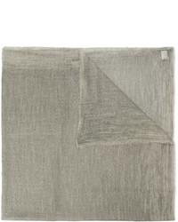 Écharpe grise Faliero Sarti