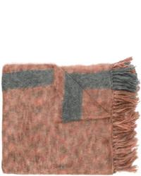Écharpe grise Isabel Marant