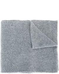 Écharpe grise Lanvin