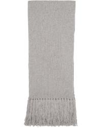 Écharpe grise Marc Jacobs