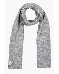 Écharpe grise Moncler