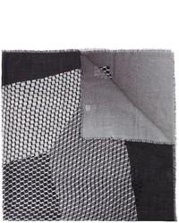 Écharpe grise Pierre Hardy