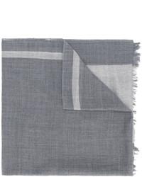 Écharpe grise Yohji Yamamoto