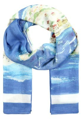 Écharpe imprimée bleue claire Ralph Lauren