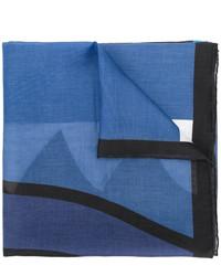 Écharpe imprimée bleue Givenchy