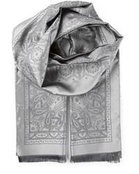 Écharpe imprimée grise Etro