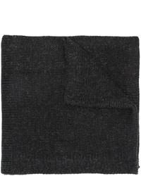 Écharpe imprimée noire Y-3