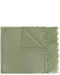 Écharpe imprimée olive Ermanno Scervino
