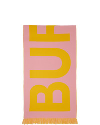 Écharpe imprimée rose Burberry