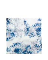 Écharpe imprimée tie-dye bleu clair Avant Toi