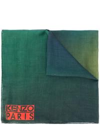 Écharpe imprimée vert foncé Kenzo