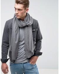 Écharpe légère grise Asos