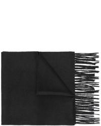 Écharpe légère noire Gucci