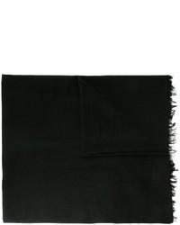Écharpe noire Ann Demeulemeester