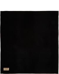 Écharpe noire Burberry