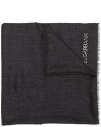 Écharpe noire Dolce & Gabbana