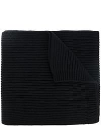 Écharpe noire DSQUARED2