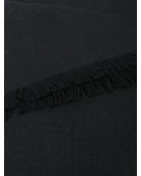 Écharpe noire Fendi