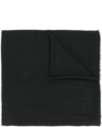 Écharpe noire Isabel Marant