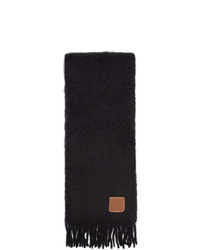Écharpe noire Loewe