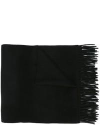 Écharpe noire Max Mara