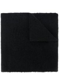 Écharpe noire MM6 MAISON MARGIELA