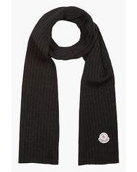Écharpe noire Moncler