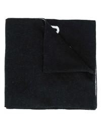 Écharpe noire Moschino