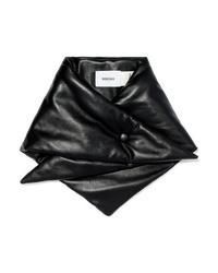 Écharpe noire Nanushka