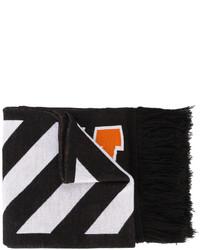 Écharpe noire Off-White
