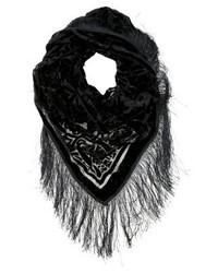 Écharpe noire Pieces
